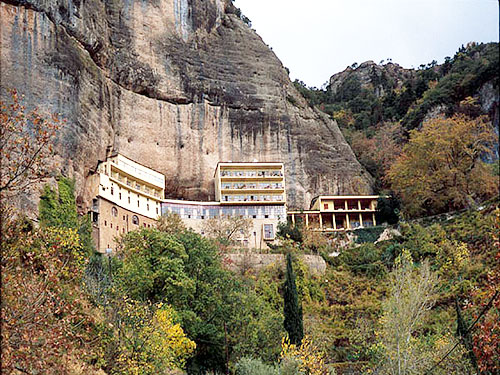 Monastery of Mega Spileon at Kalavryta